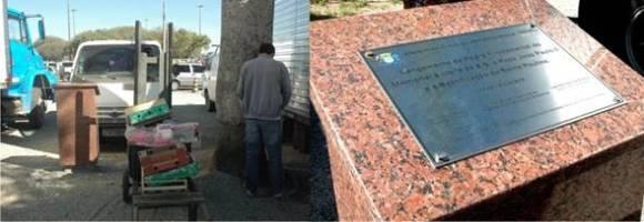 Memorial à visita do Papa João Paulo II